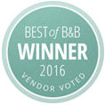 Reverend Arlene Goldman is Vendor Voted Best of B&B Winner 2016