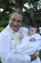 Baby Blessing with Reverend Paul Goldman in South Florida