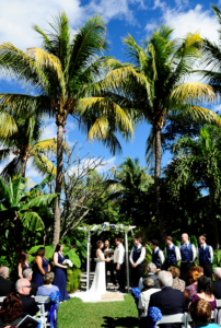 Civil Ceremony at The Sundy House in South Florida