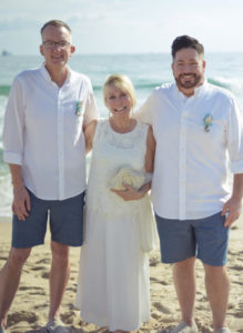 LGBTQ Wedding Before a Cruise