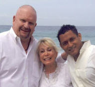 Gay Wedding at The Beach with Custom Wedding Ceremony by Reverend Arlene Goldman