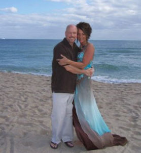 Beach Ceremony to Renew Wedding Vows in South Florida