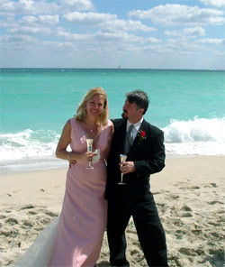 Renew Wedding Vows on The Beach at Deauville Hotel in Miami Beach, Florida