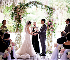 Getting Married in Florida with a Romantic Ceremony by Reverend Arlene Goldman