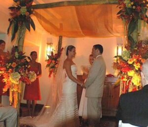 South Florida Wedding Ceremony with Russian Bread Wedding Tradition