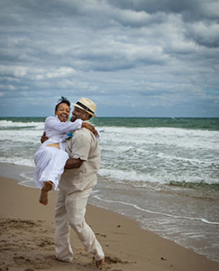South Florida Elopement Ceremony on the Beach is Coronavirus Friendly